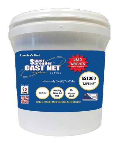 Cast Net SS 1000 Tape Net