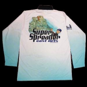 Super Spreader Quick-Dry Fishing Shirt – Long Sleeve
