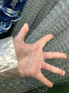Always inspect your netting for rips and tears before each use.