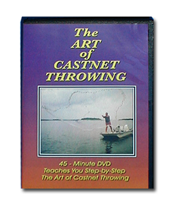DVD Cast Net Throwing Tutorials
